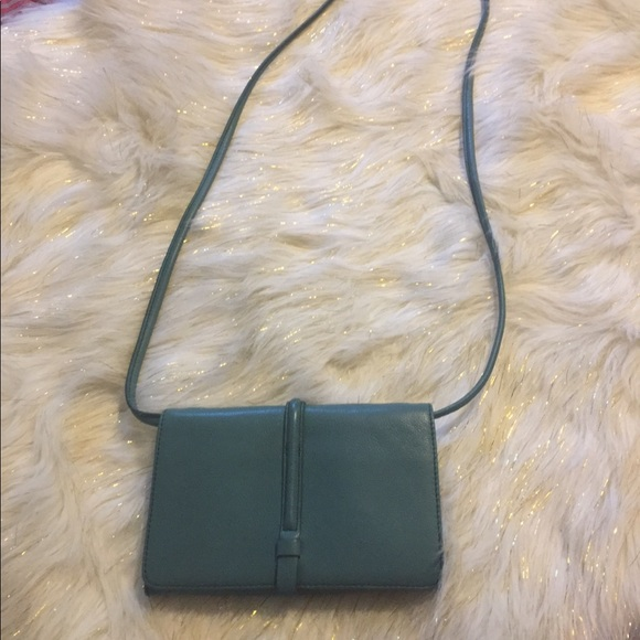 Fossil Handbags - Fossil cross body teal in color new with no tags